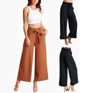 Black baggy pants/slacks